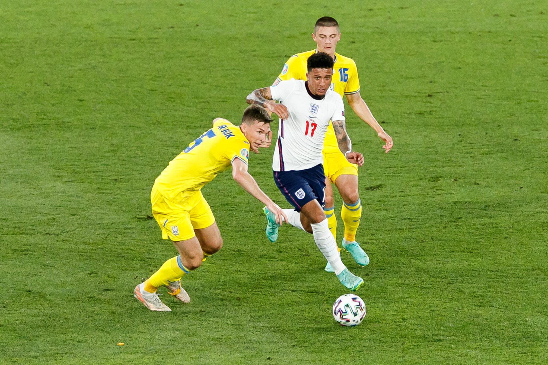 Finaliste de l'Euro avec l'Angleterre, Jadon Sancho retrouve son pays d'origine et va découvrir la Premier League (iconsport)