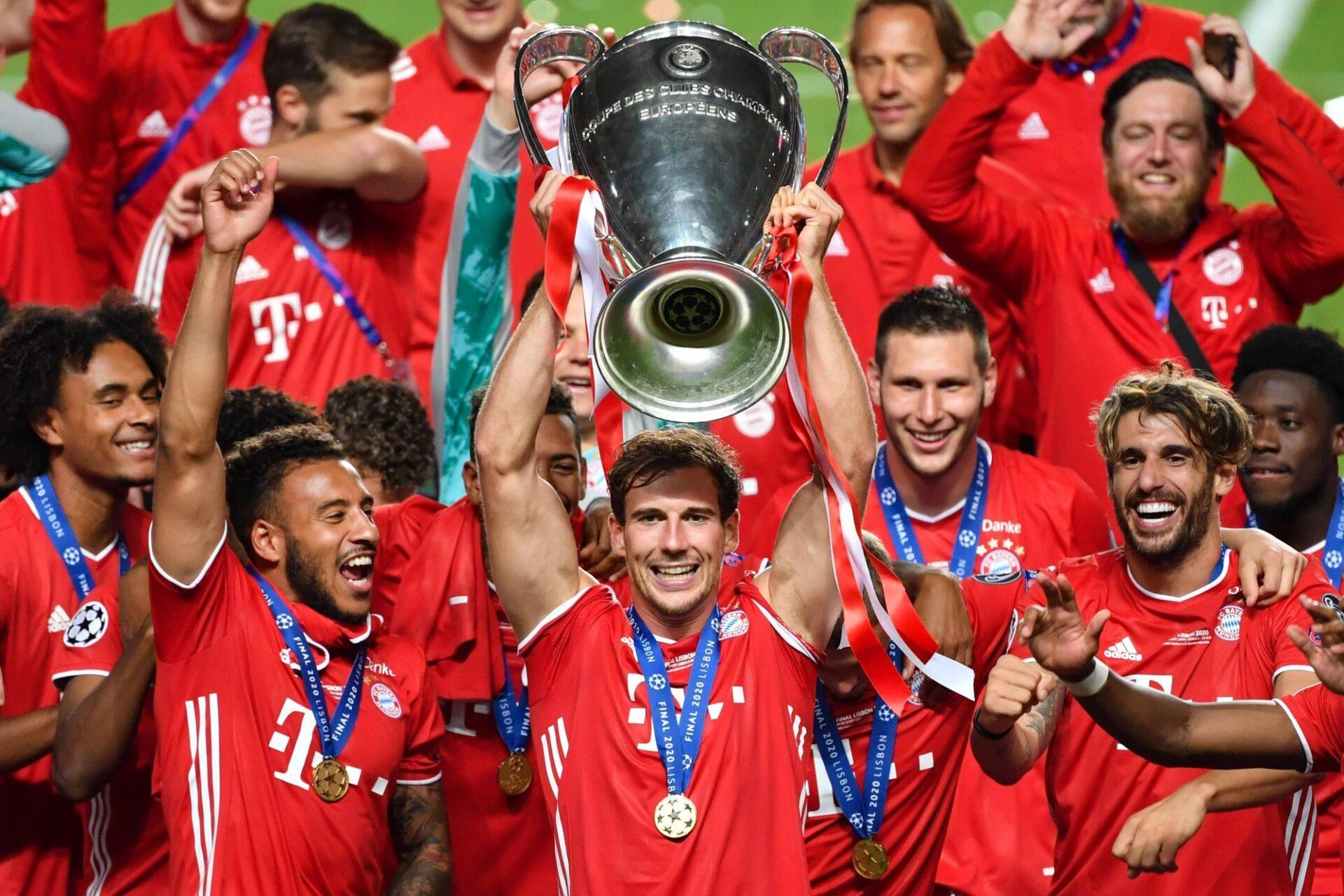 Leon Goretzka a été l'un des grands artisans du triomphe du Bayern en Ligue des champions 2019/2020, régnant sur le milieu. Icon Sport
