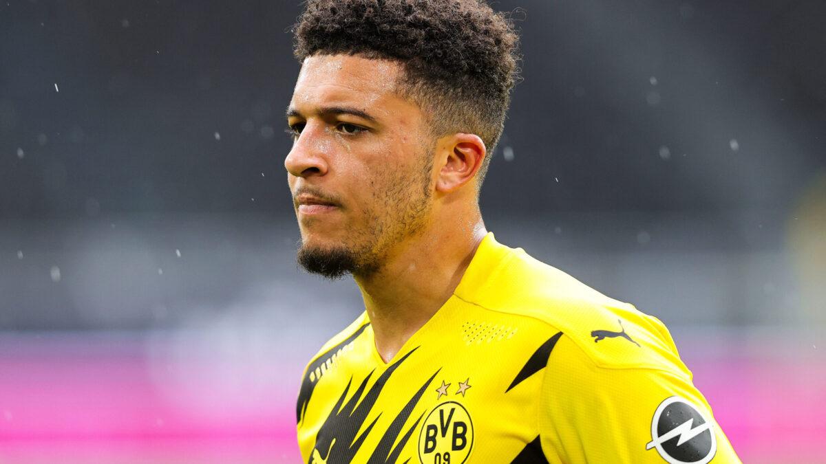 Après 4 saisons au Borussia Dortmund, Jadon Sancho prend la direction de Manchester United. Le club allemand a officialisé le transfert ce jeudi 1er juillet (iconsport)