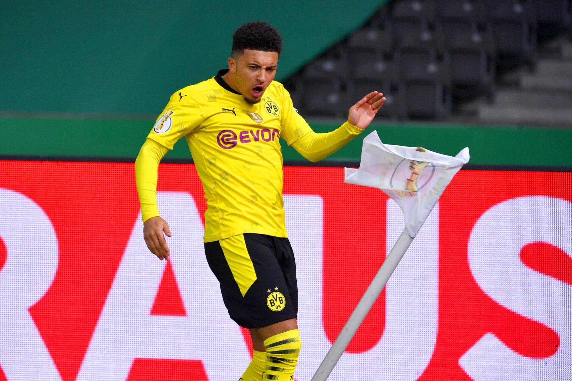 Jadon Sancho sous les couleurs de Dortmund (iconsport)