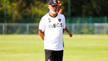 Galtier entraînant sa nouvelle équipe (Icon Sport)