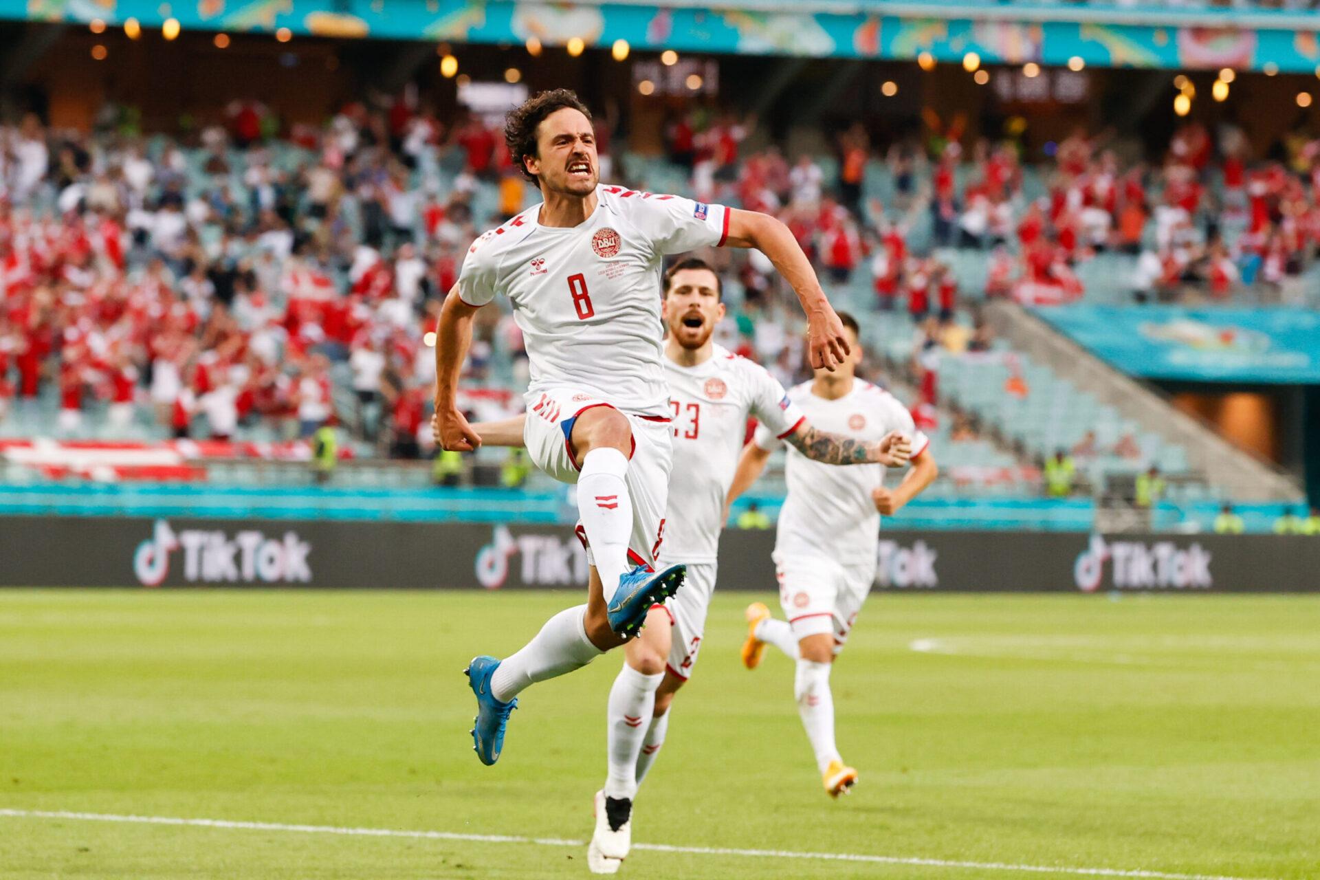 Thomas Delaney a ouvert le score pour le Danemark (iconsport)