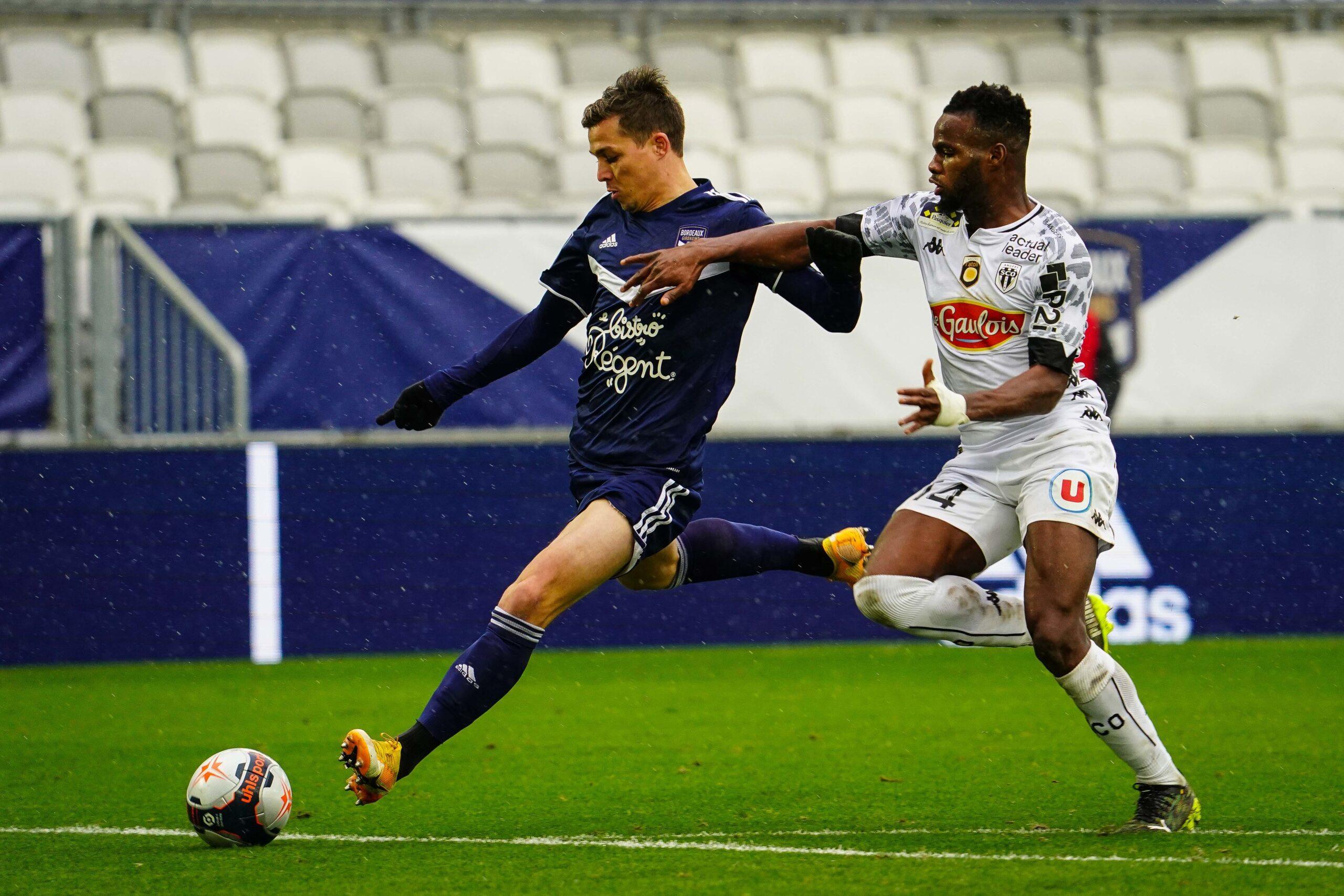 Bordeaux et Angers seront en Ligue 1 la saison prochaine (iconsport)