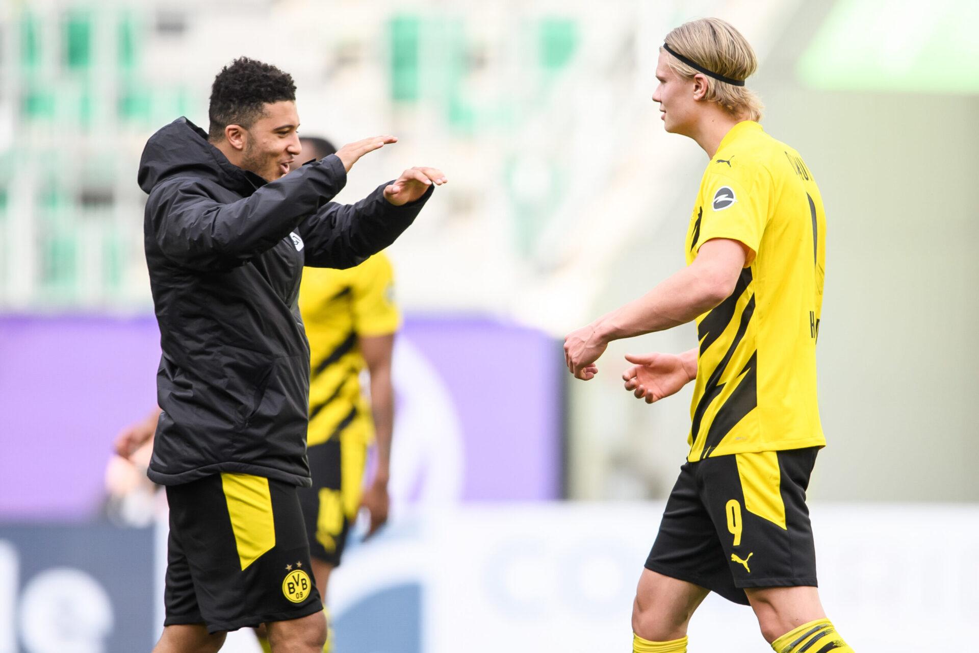 Malen devra essayer de retrouver la complémentarité qu'avait Jadon Sancho avec Haaland à Dortmund (iconsport)