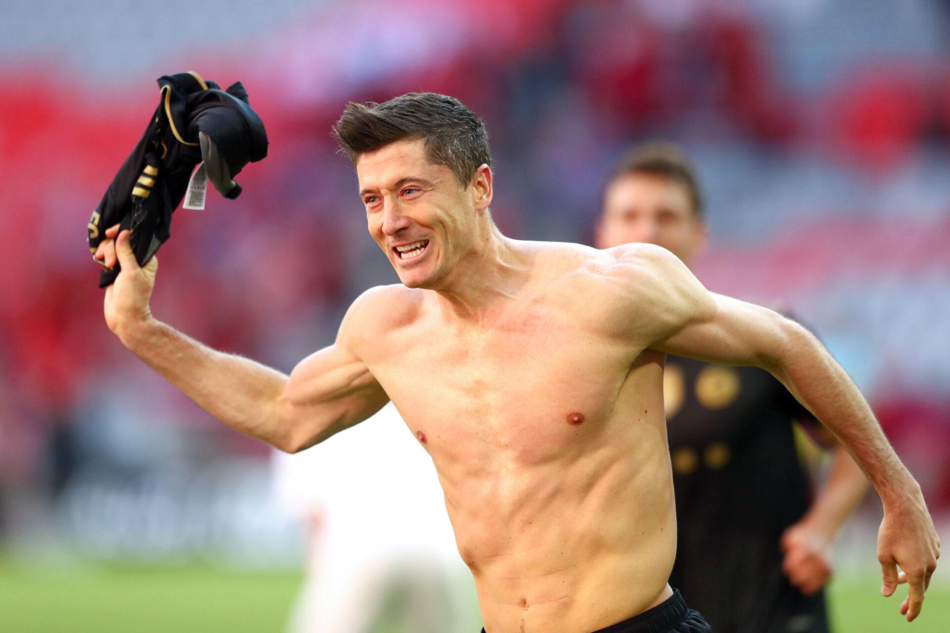 Robert Lewandowski pourrait bien quitter le Bayern cet été, ou dans un an. Icon Sport