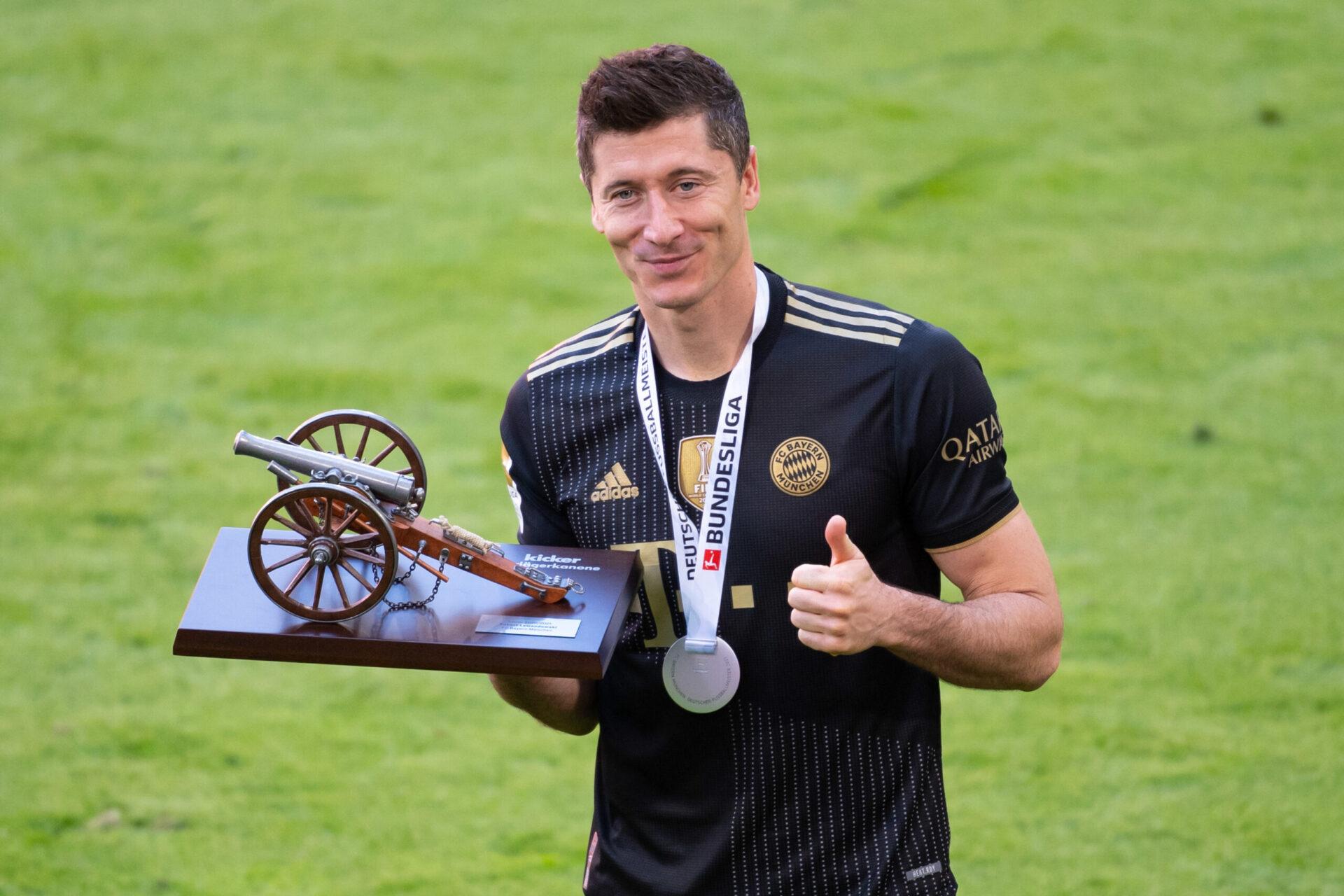 Robert Lewandowski, l'homme de tous les records (ou presque) en Bundesliga. Icon Sport