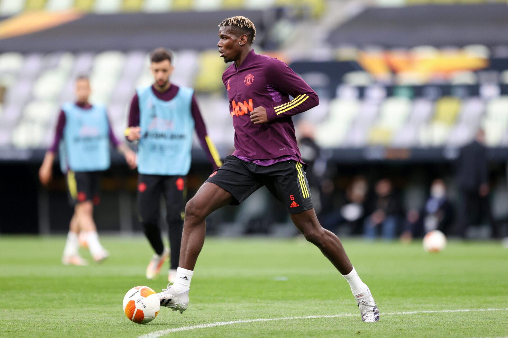 Paul Pogba avec Manchesster United (iconsport)
