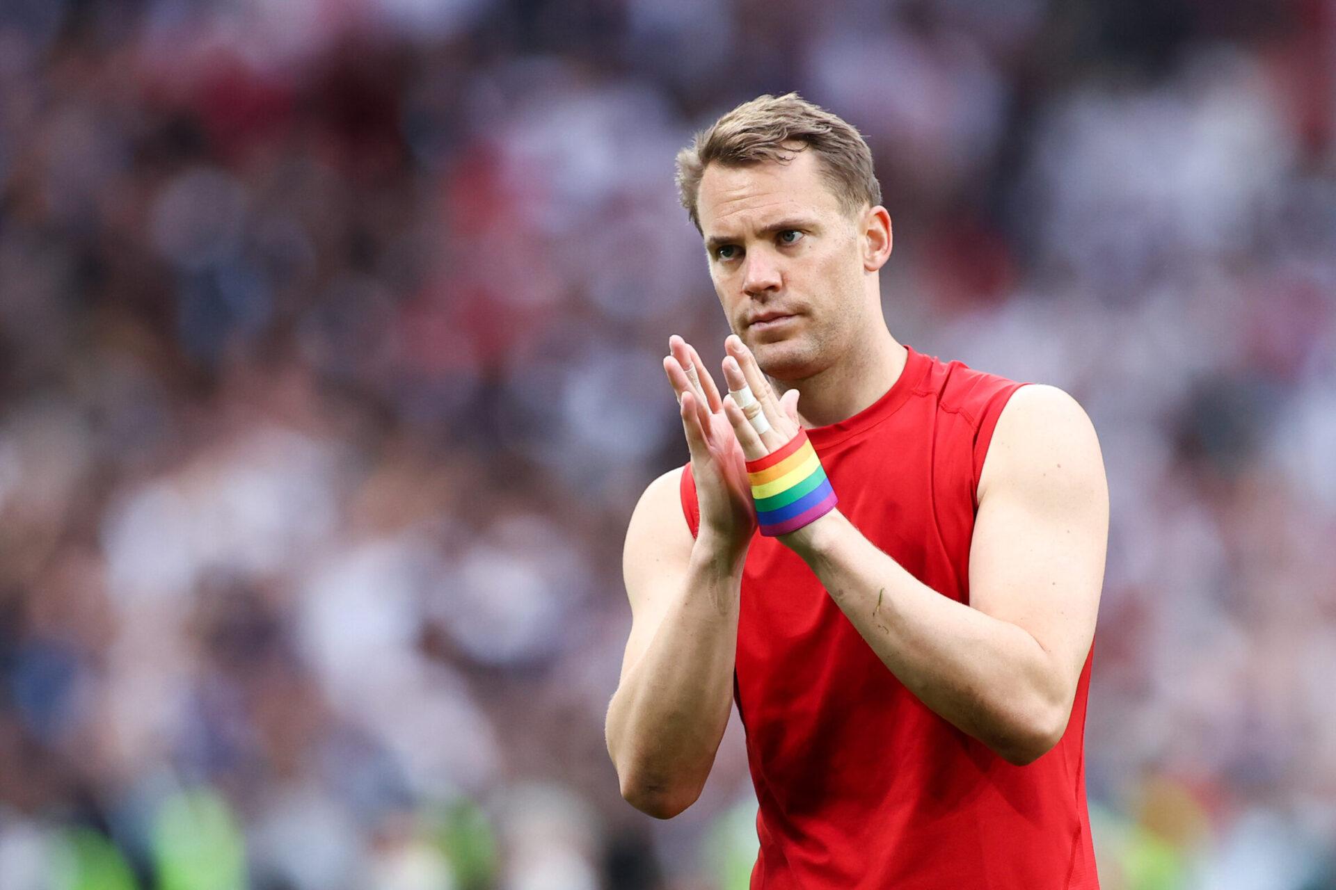 Manuel Neuer jouant pour son pays l'Allemagne (Icon Sport)