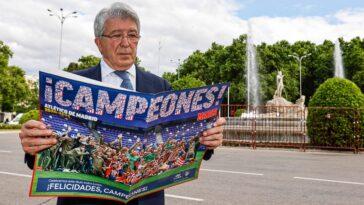 Le président de l'Atlético Enrique Cerezo a indiqué qu'un retour de Griezmann était totalement possible (iconsport)