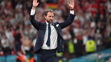 Gareth Southgate veut voir le vrai visage de l'Angleterre face à l'Italie. Icon Sport