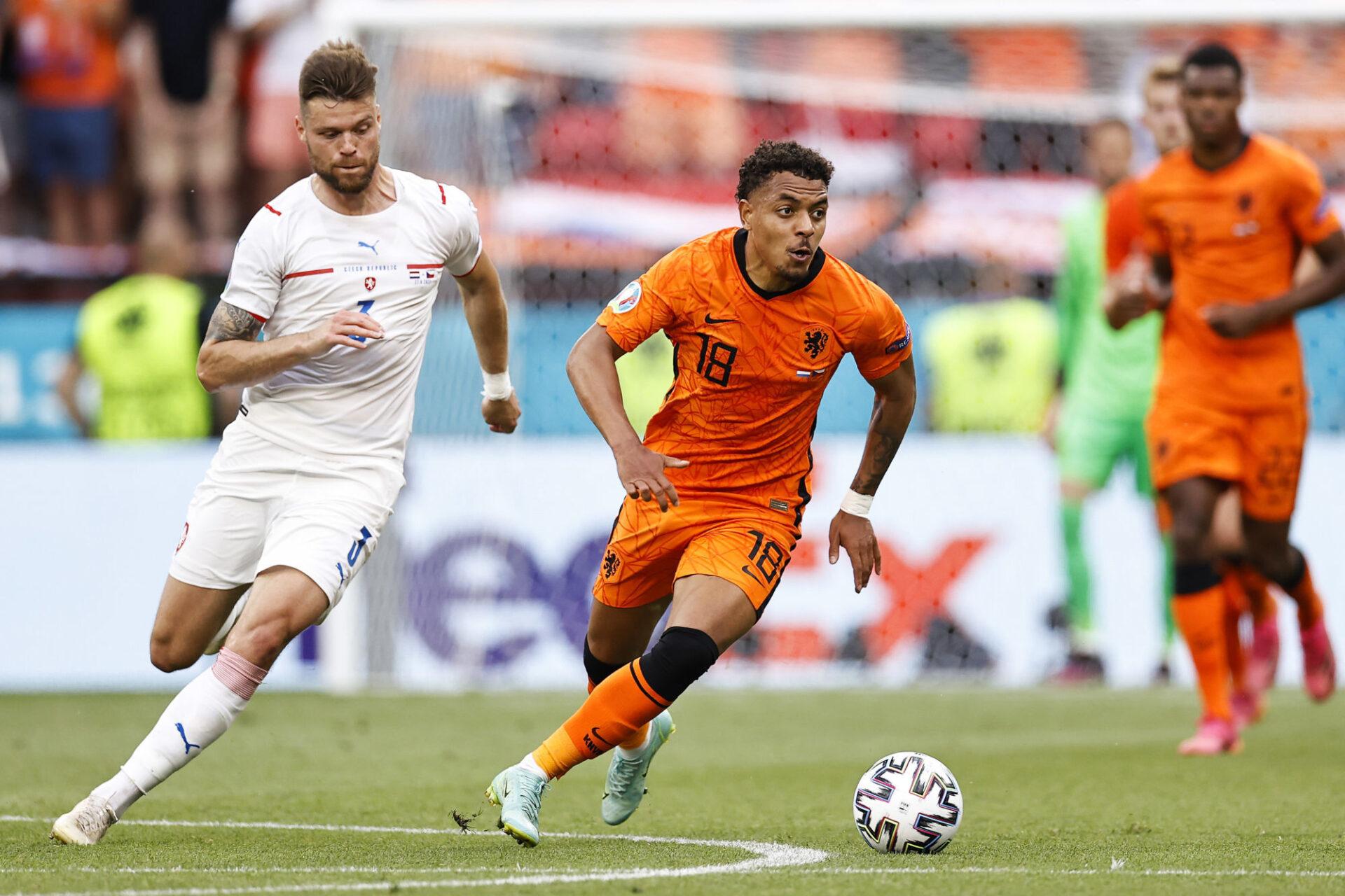 Donyell Malen a donné deux passes décisives à l'Euro 2020 avec les Pays-Bas. Icon Sport