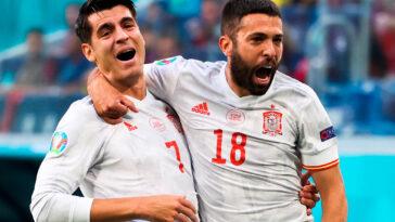 Rapidement devant grâce à Jordi Alba, la Roja a eu recours aux tirs au but pour sortir la Suisse en quart de finale de l'Euro. La Roja jouera les demi-finales (iconsport)