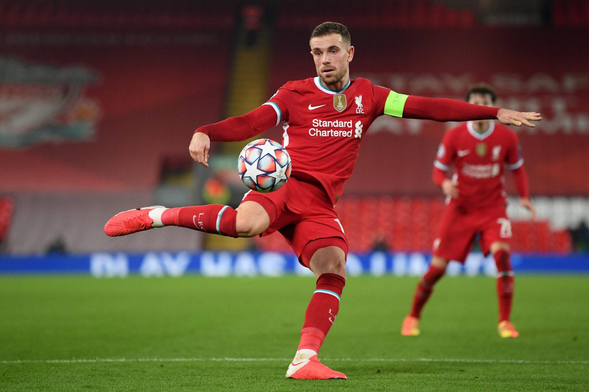Arrivé à Liverpool en 2011, Jordan Henderson s'est rapidement imposé chez les Reds. Devenu capitaine, il a été désigné meilleur joueur FWA de la Premier League en 2020 (iconsport)