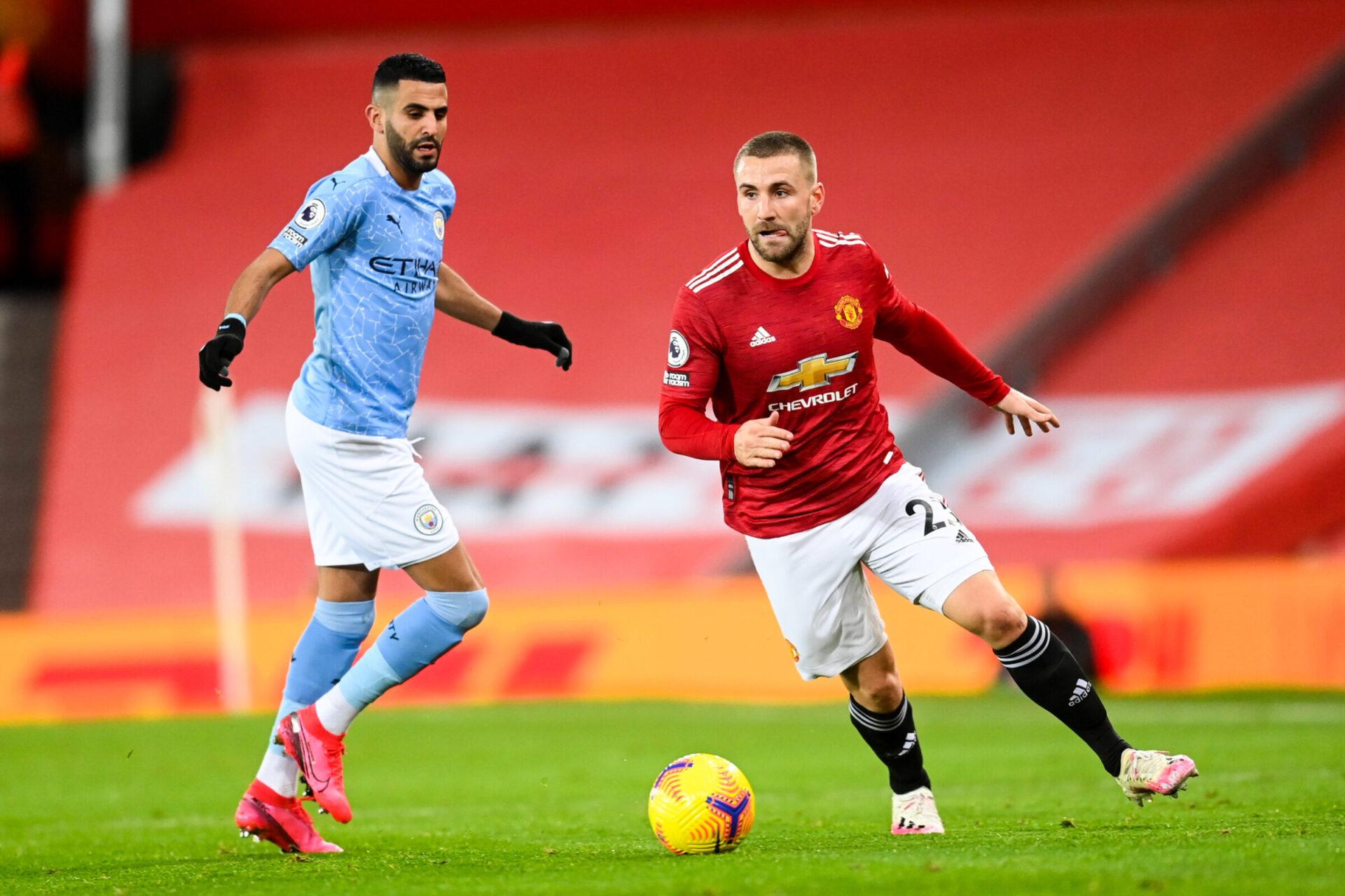 Luke Shaw pourrait bientôt prolonger avec United (iconsport)