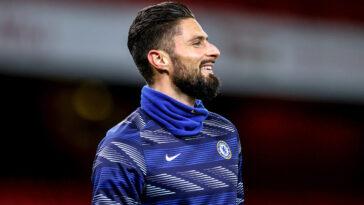 Un accord aurait été trouvé entre Chelsea et l'AC Milan, Olivier Giroud devrait donc rejoindre l'Italie cet été (iconsport)