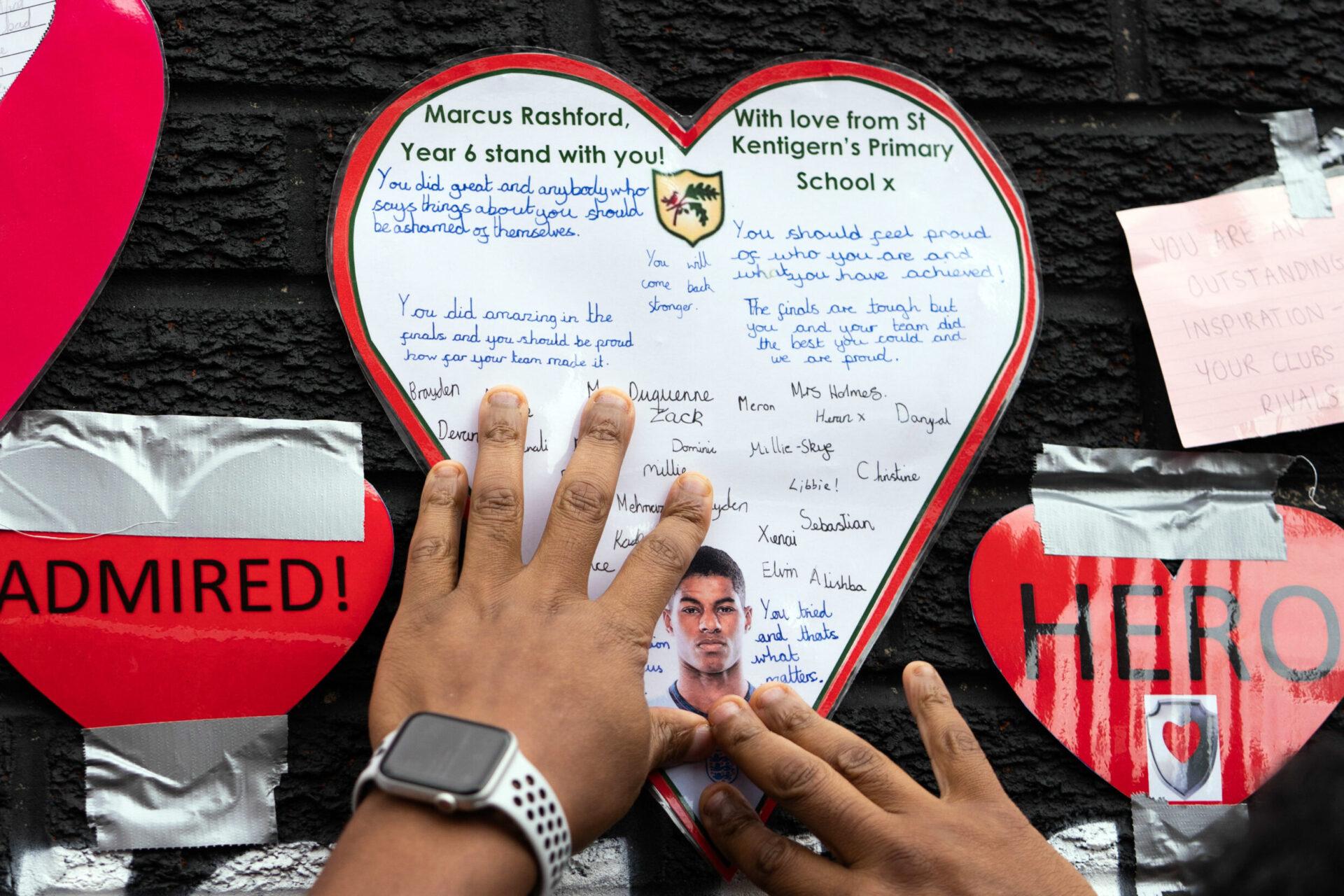 Marcus Rashford inspire beaucoup la jeunesse d'Angleterre(Icon Sport)