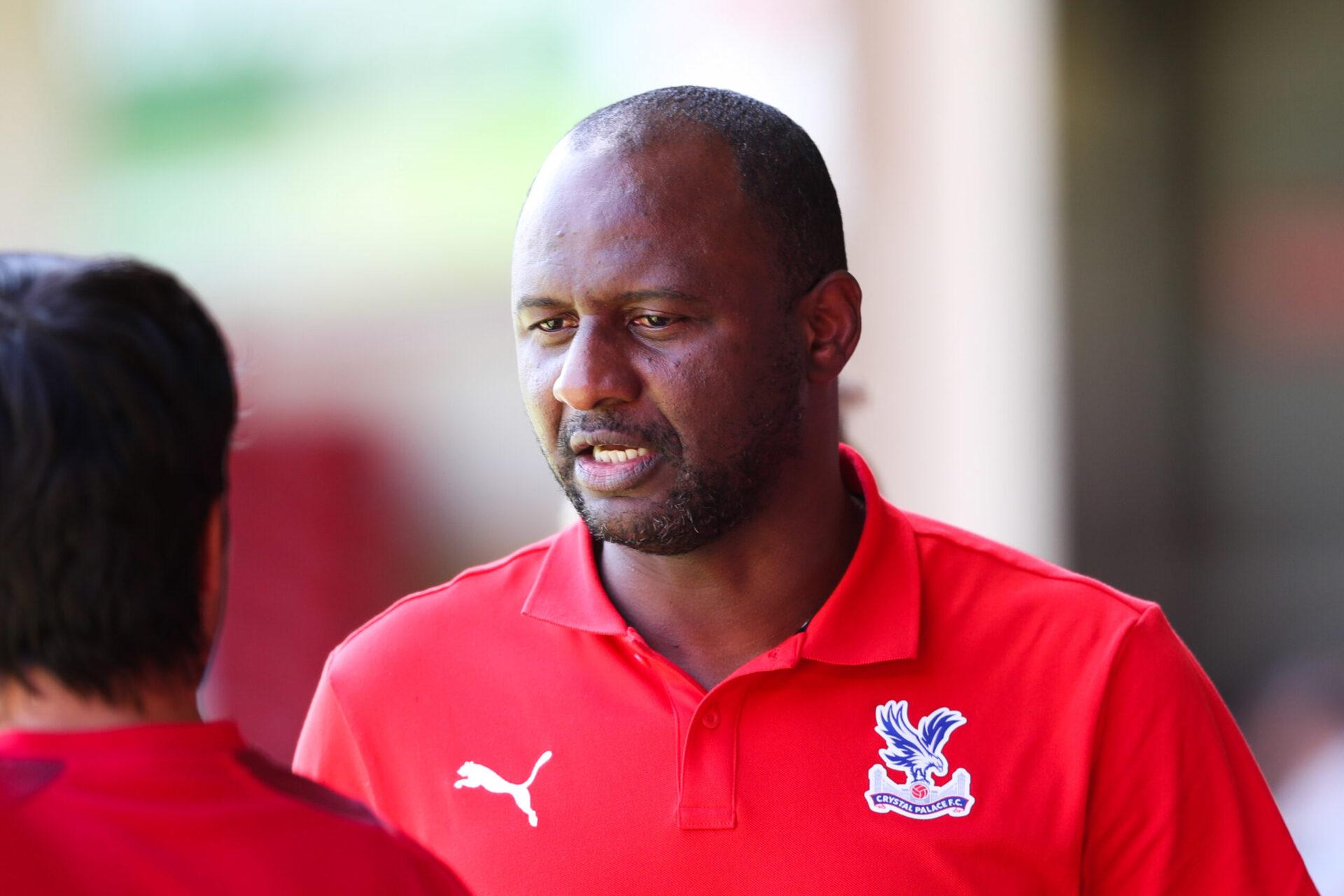 Nommé entraîneur de Crystal Palace au début du mois de juillet, Patrick Vieira compte déjà quatre recrues (iconsport)