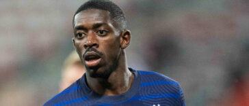 Ousmane Dembélé est au coeur de la tempête après des accusations de racisme anti-asiatique le visant. Icon Sport