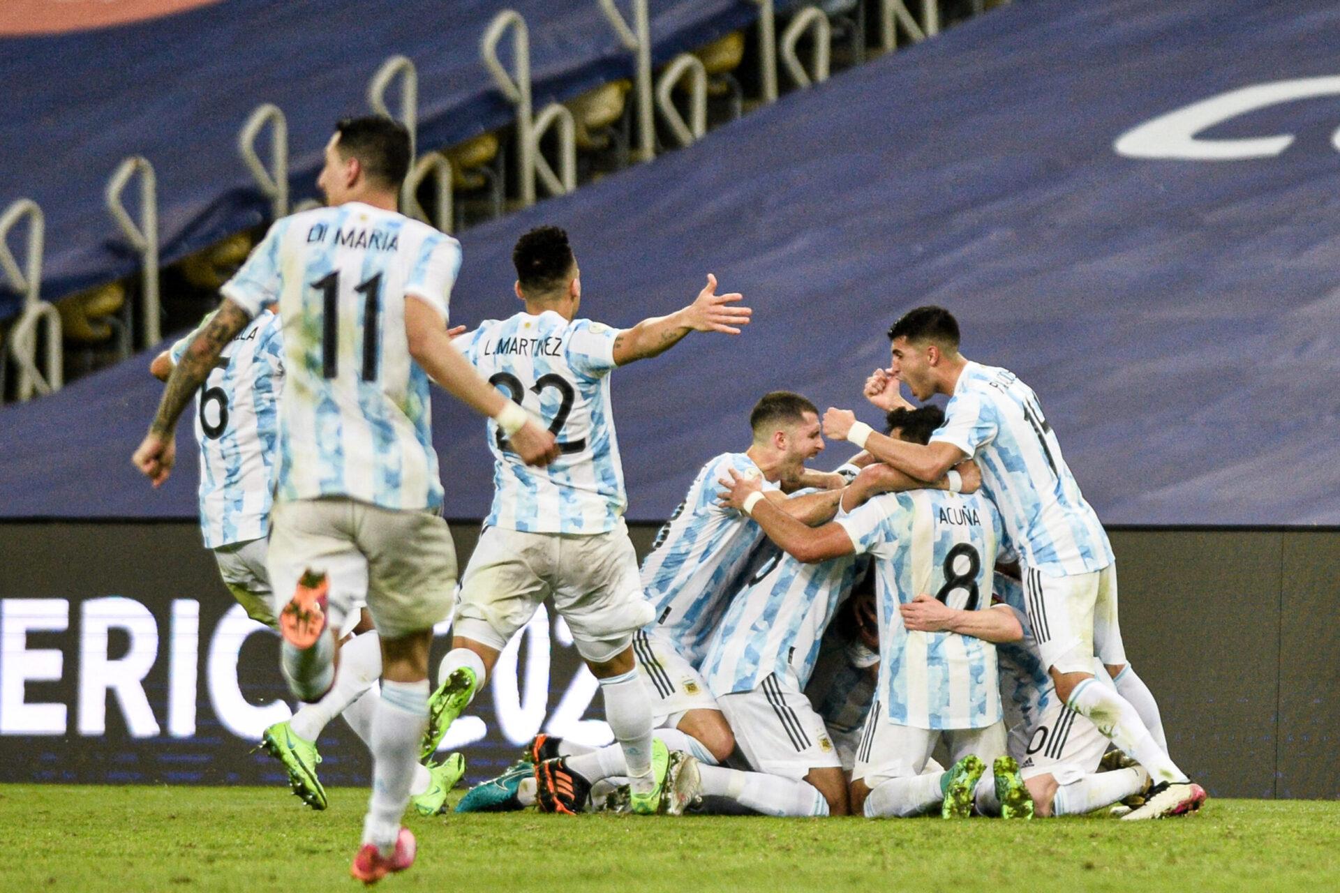 L'Argentine de Leo Messi a remporté la Copa América face au Brésil. Icon Sport