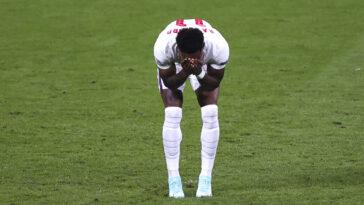 Marcus Rashford, Jadon Sancho et Bukayo Saka ont été victimes d'insultes racistes après la finale de l'Euro 2020, perdue par l'Angleterre contre l'Italie (iconsport)