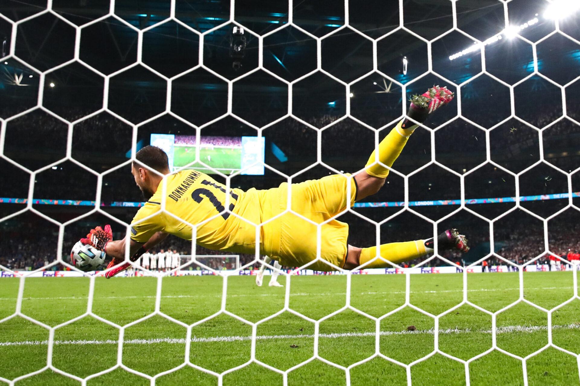 Donnarumma a été décisif face à l'Angleterre en finale de l'Euro. Icon Sport