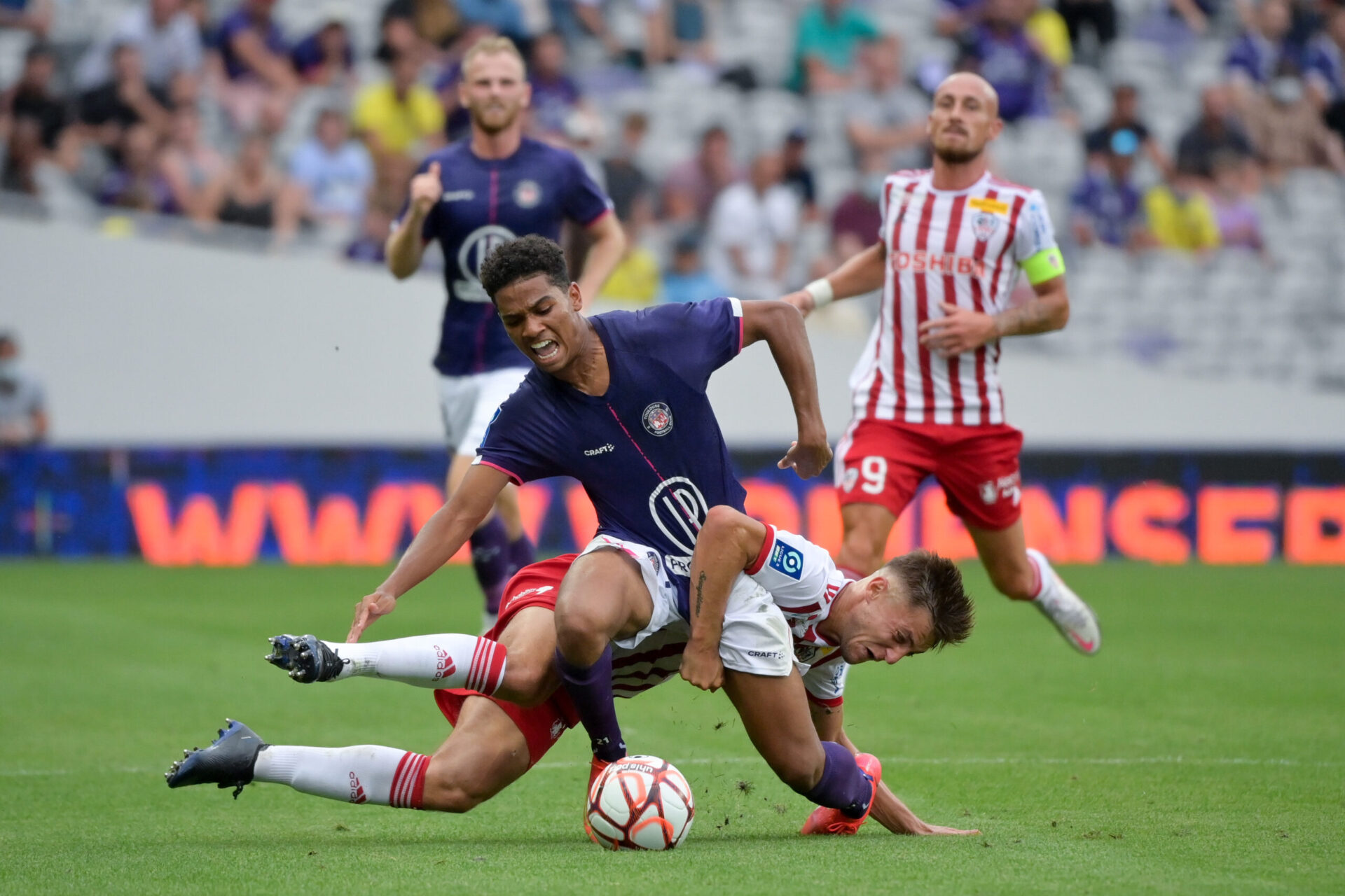 Amine Adli a-t-il joué son dernier match sous les couleurs du Toulouse Football Club ? Icon Sport