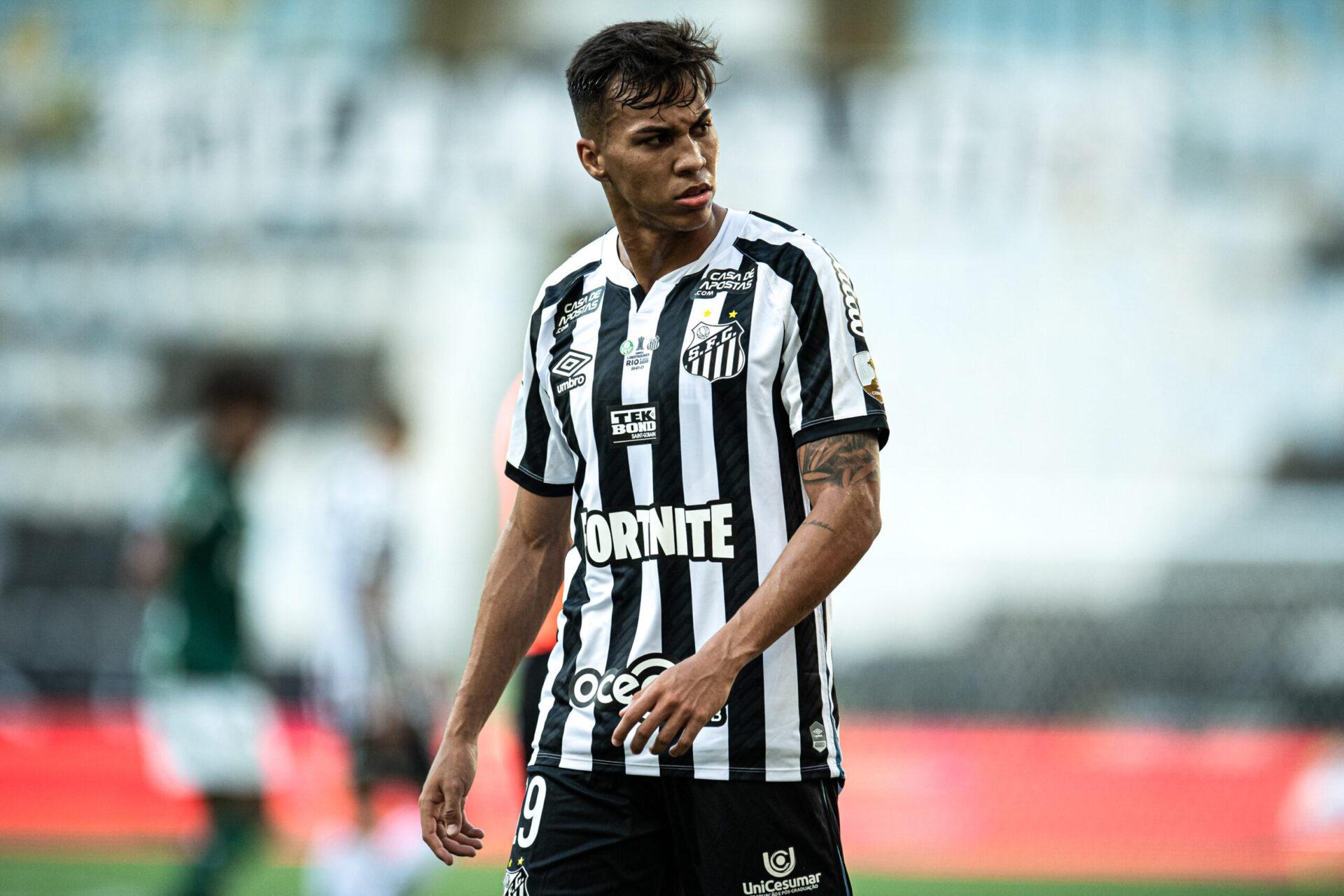 Kaio Jorge va rejoindre la Juventus Turin, en provenance de Santos. Icon Sport