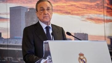 Florentino Perez aurait annoncé au conseil d'administration que le recrutement du Real était terminé. (iconsport)