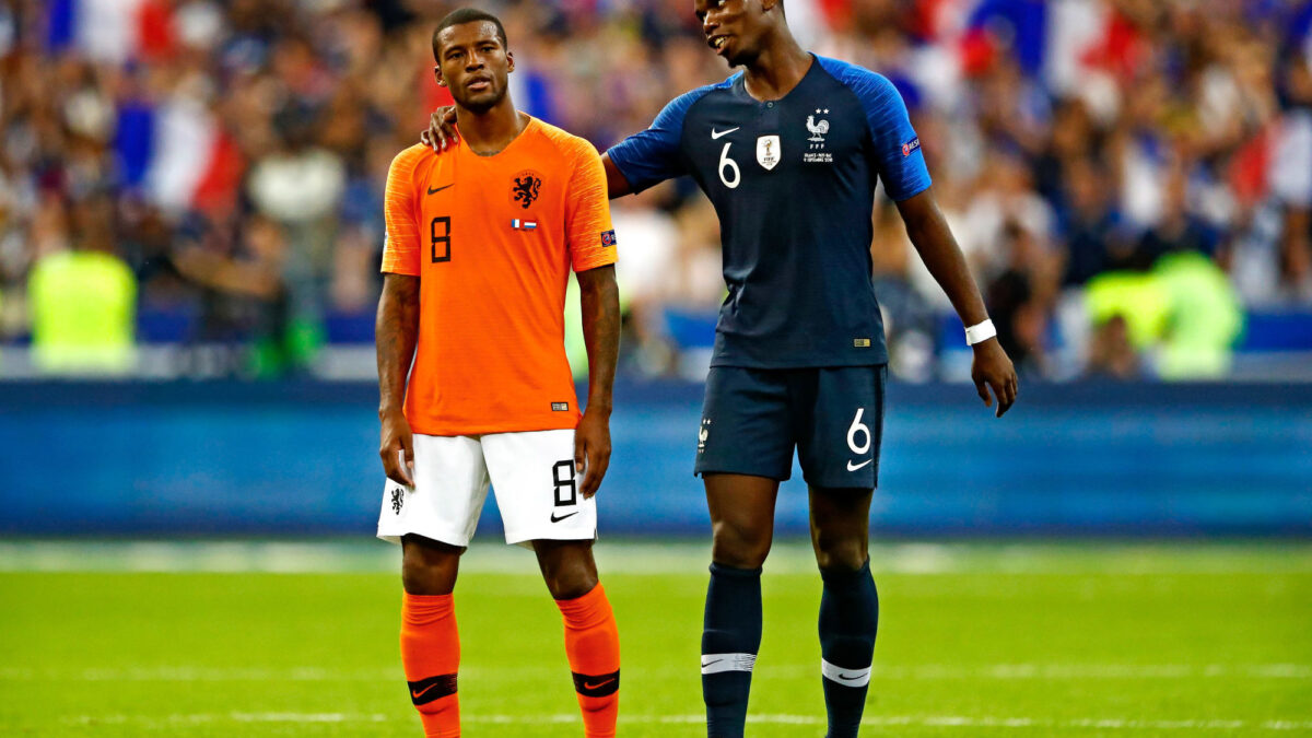 Giorginio Wijnaldum aimerait voir Paul Pogba au PSG (iconsport)
