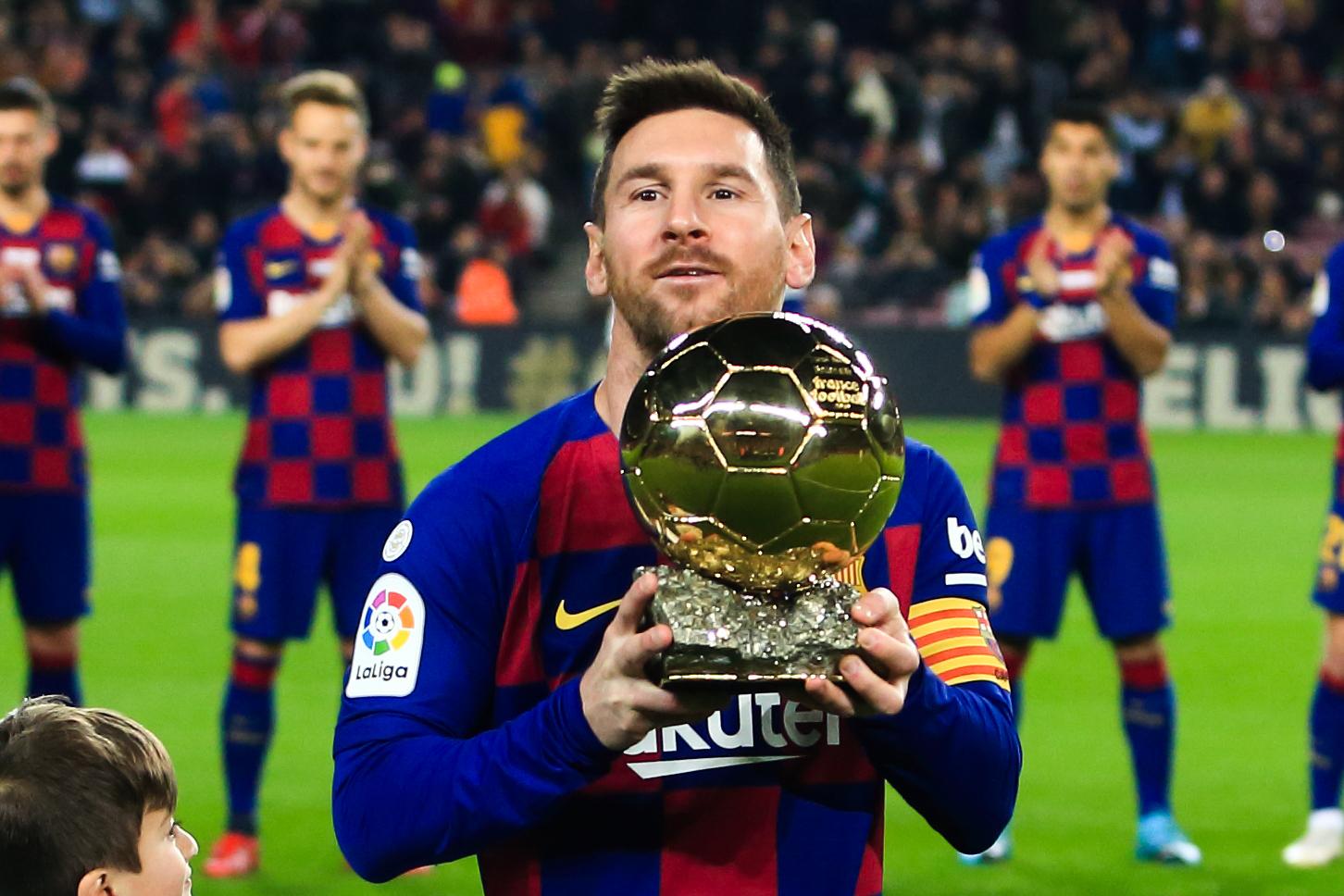 Lionel Messi, le roi des Ballons d'Or (iconsport)