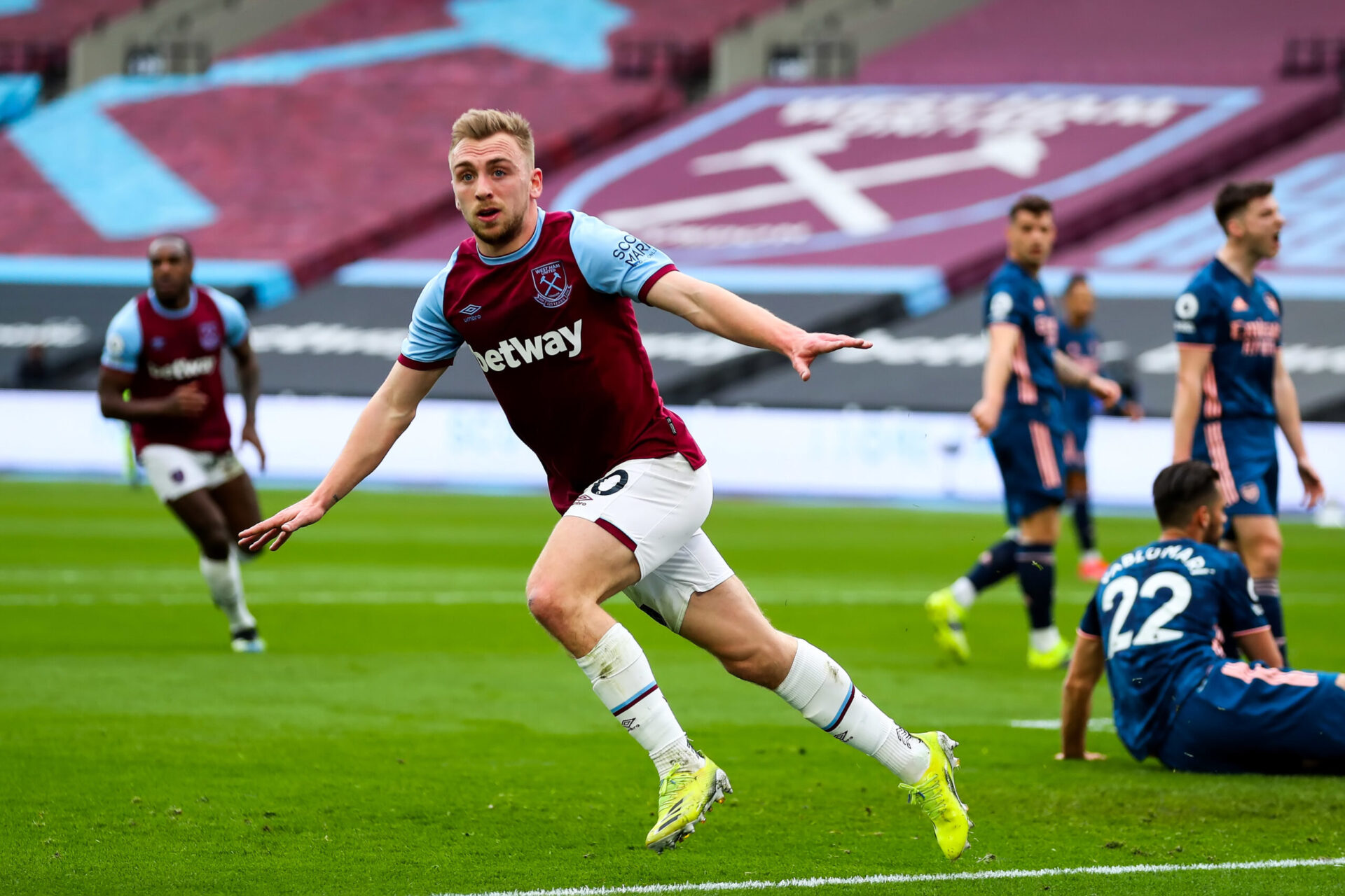 Bowen sort d'une très belle saison avec West Ham (iconsport)