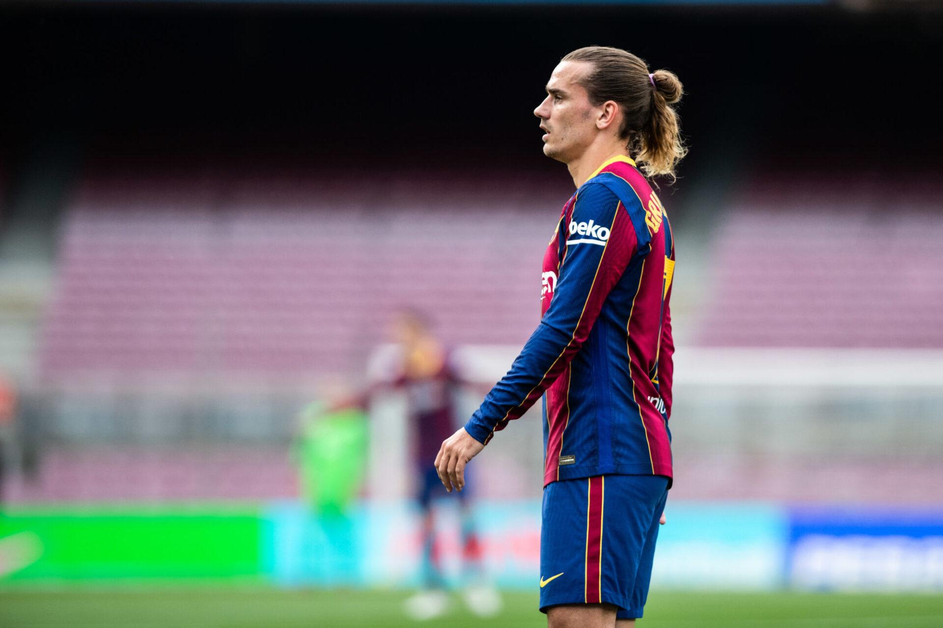 Antoine Griezmann est sur un siège éjectable au FC Barcelone... Icon Sport