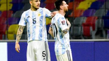 Selon Leandro Paredes, Lionel Messi n'ira pas au PSG (iconsport)