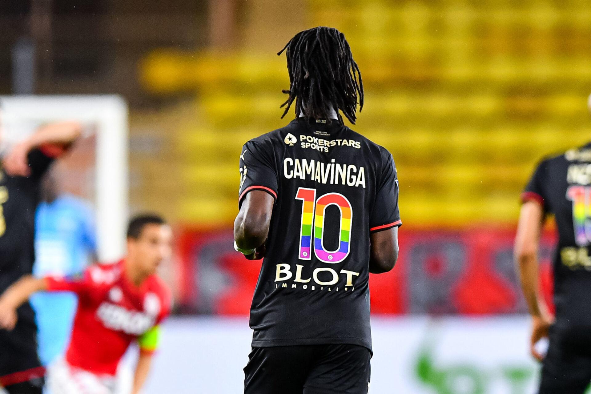 Eduardo Camavinga est prêt à tourner le dos à Rennes. Pour prendre la direction de Manchester... ou de Paris ? Icon Sport