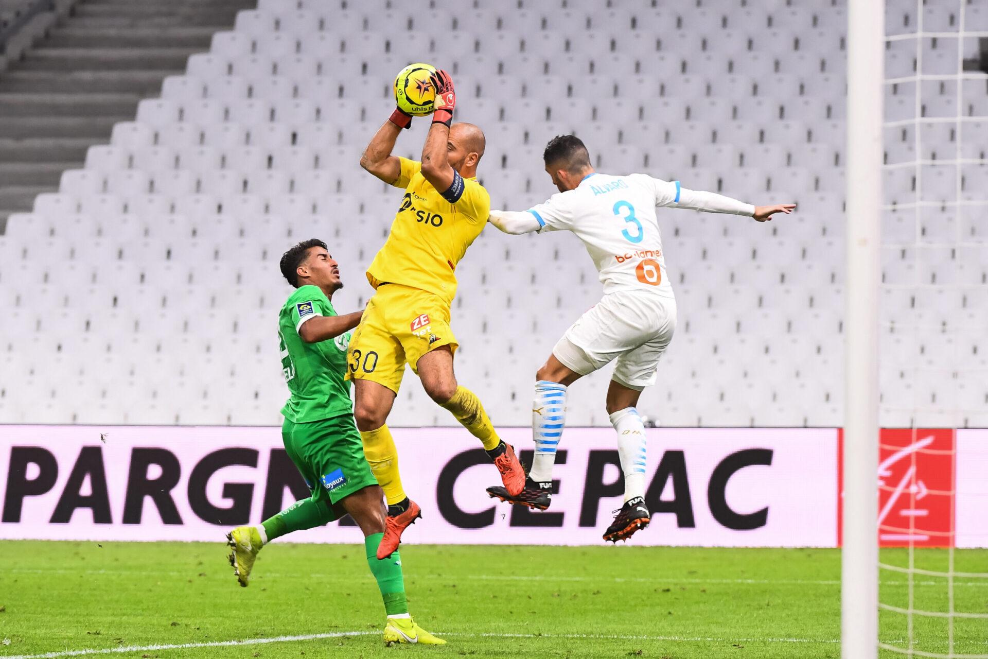 Après avoir été longtemps dans l'ombre de Jérémie Janot puis Stéphane Ruphier, Jessy Moulin a profité du licenciement du second pour débuter la saison dernière comme titulaire (iconsport)