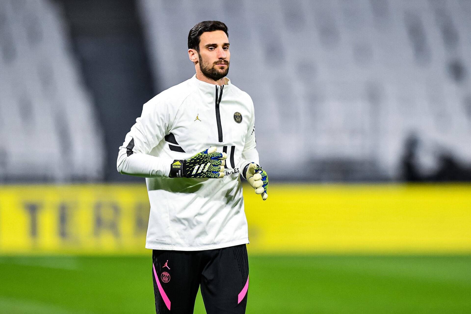 Un temps pisté, Sergio Rico, en partance du PSG, ne sera pas le successeur de Mike Maignan à Lille (iconsport)