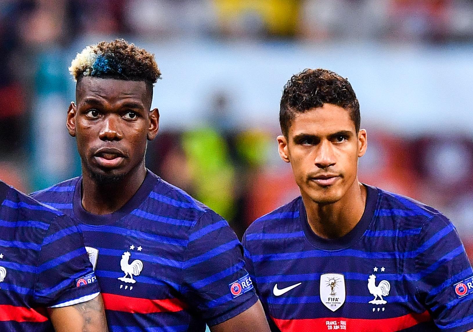 Paul Pogba et Raphaël Varane pourraient se retrouver en club (iconsport)