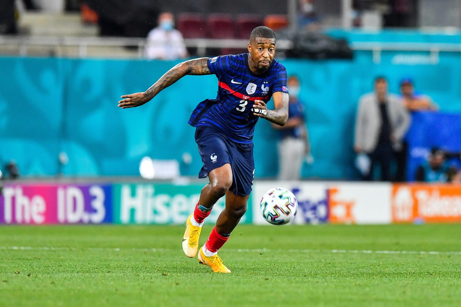 Presnel Kimpembe portant le maillot des Bleus (Icon Sport)