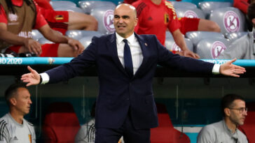 Roberto Martinez s'est dit fier de ses joueurs après l'élimination contre la Belgique tout en exprimant sa déception de voir les Diables Rouges quitter la compétition (iconsport)