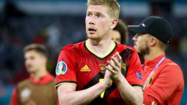 Kevin de Bruyne déçu des résultats de la Belgique (Icon Sport)