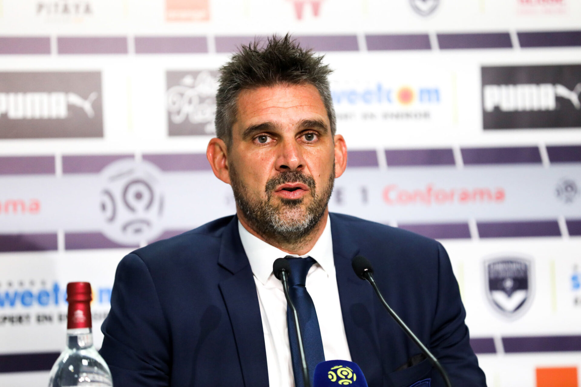 Jocelyn Gourvennec a semblé fléchir lorsque ses anciens clubs Bordeaux et Guingamp ont connu des remous au niveau de la direction. Icon Sport