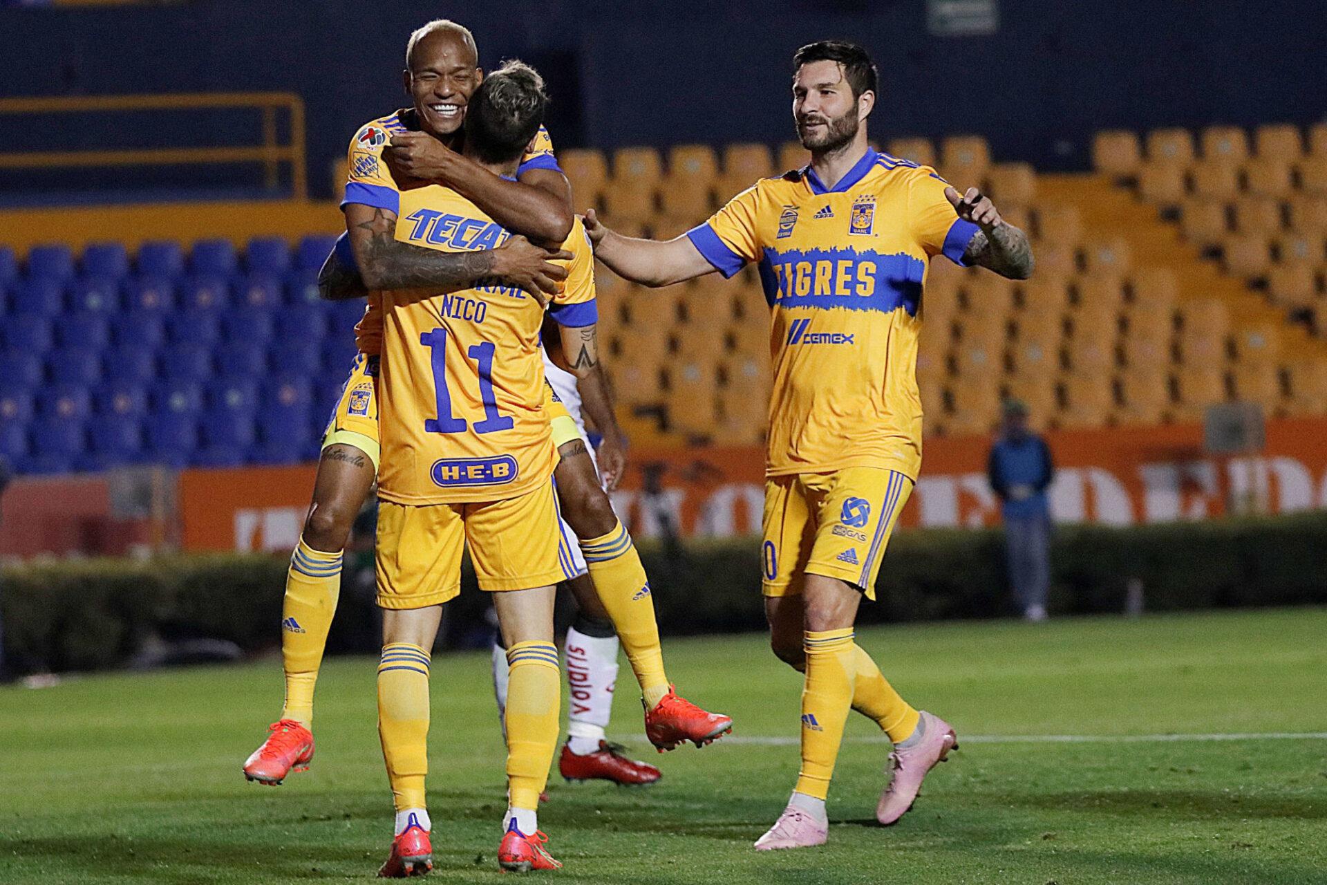 André-Pierre Gignac a convaincu les Tigres de le laisser disputer les JO. Icon Sport