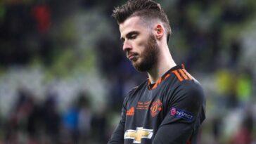 United ne compterait pas sur De Gea pour la saison prochaine (iconsport)