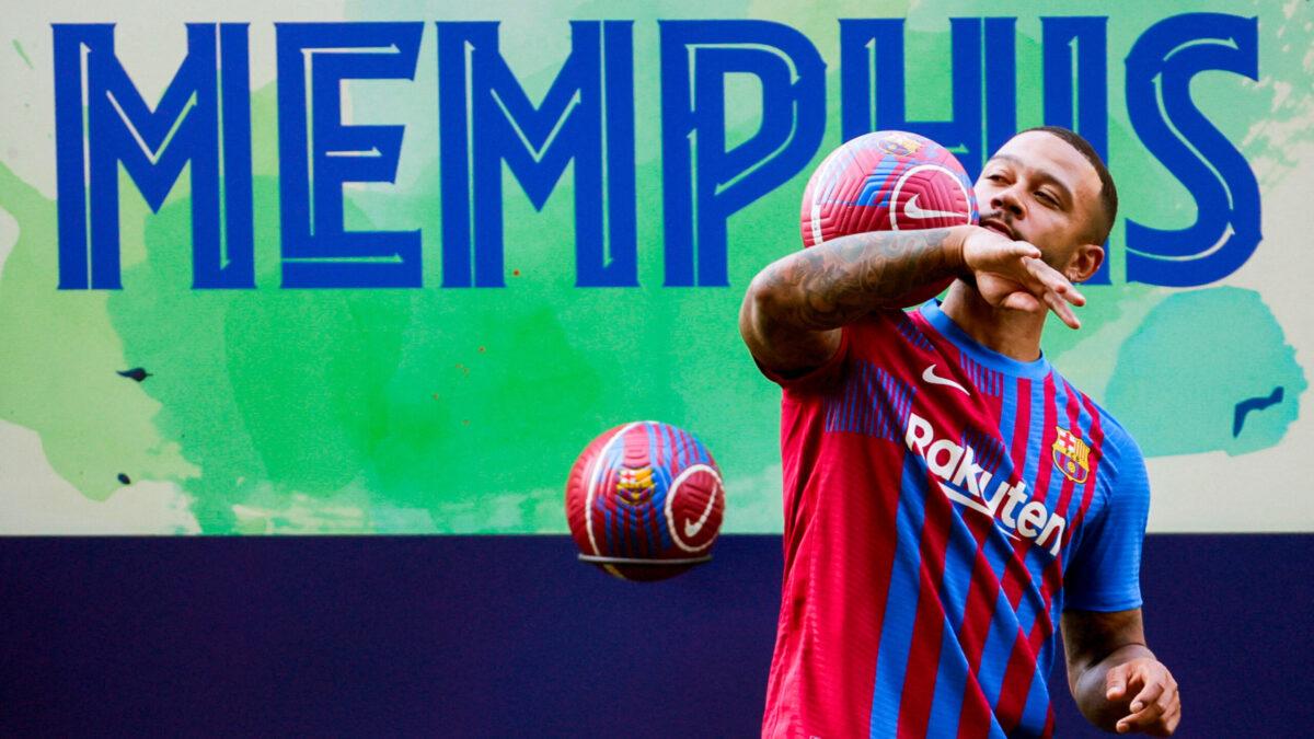 Memphis Depay : Biographie, salaire, vie privée...Tout savoir sur la vie privée du défenseur du Barça ! (Icon Sport)
