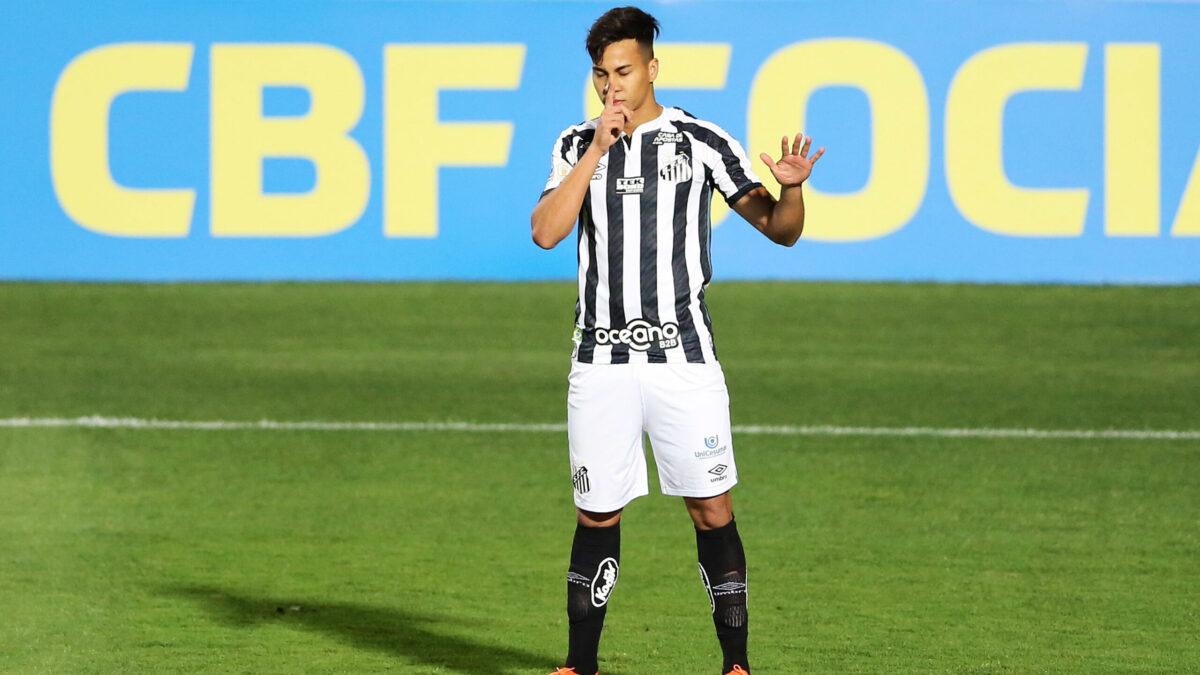 Kaio Jorge (Santos) a choisi la Juventus pour entamer sa carrière européenne. Icon Sport