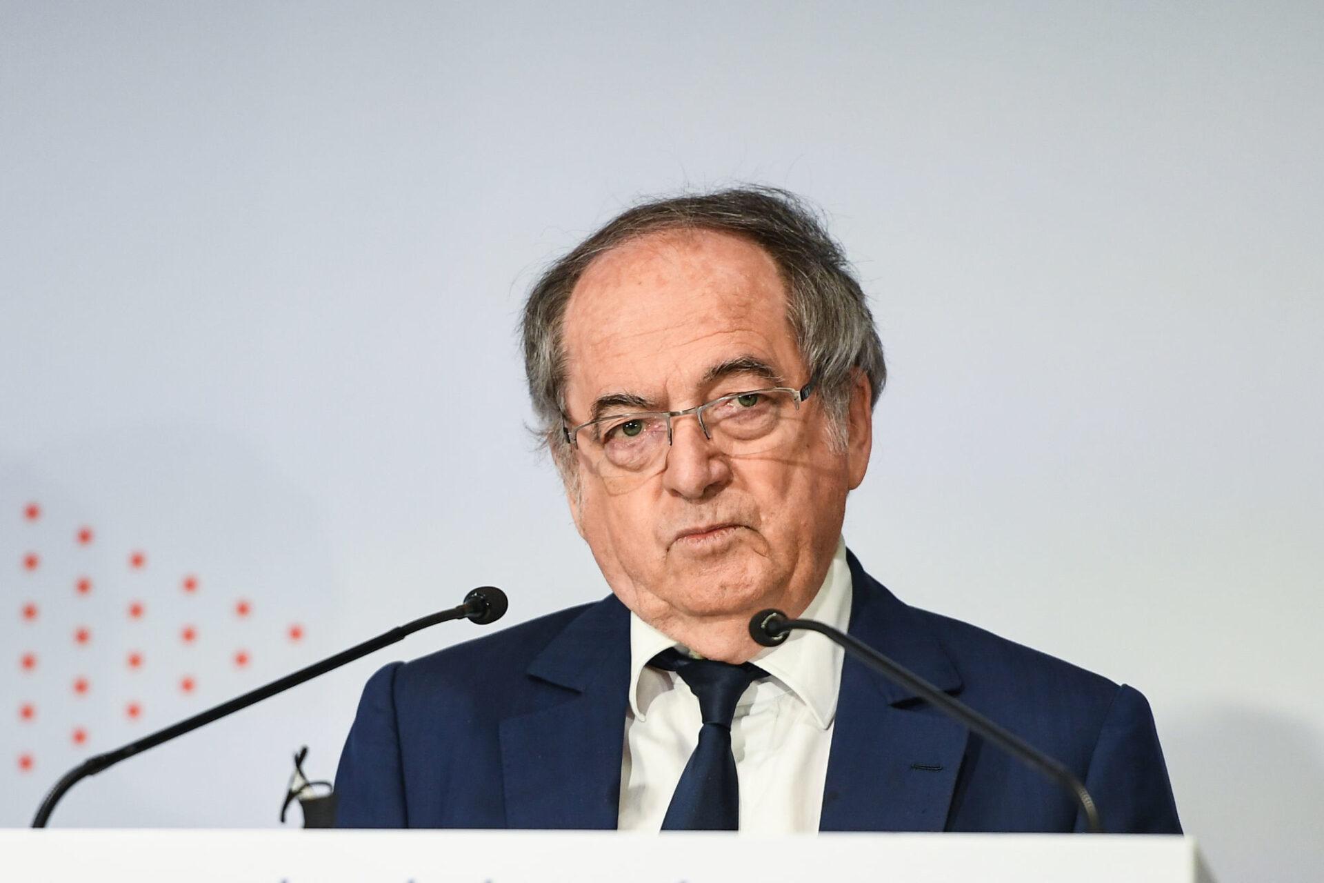 Noël Le Graët a présenté un budget déficitaire de la FFF estimé à 5,7 millions d'euros. (iconsport)