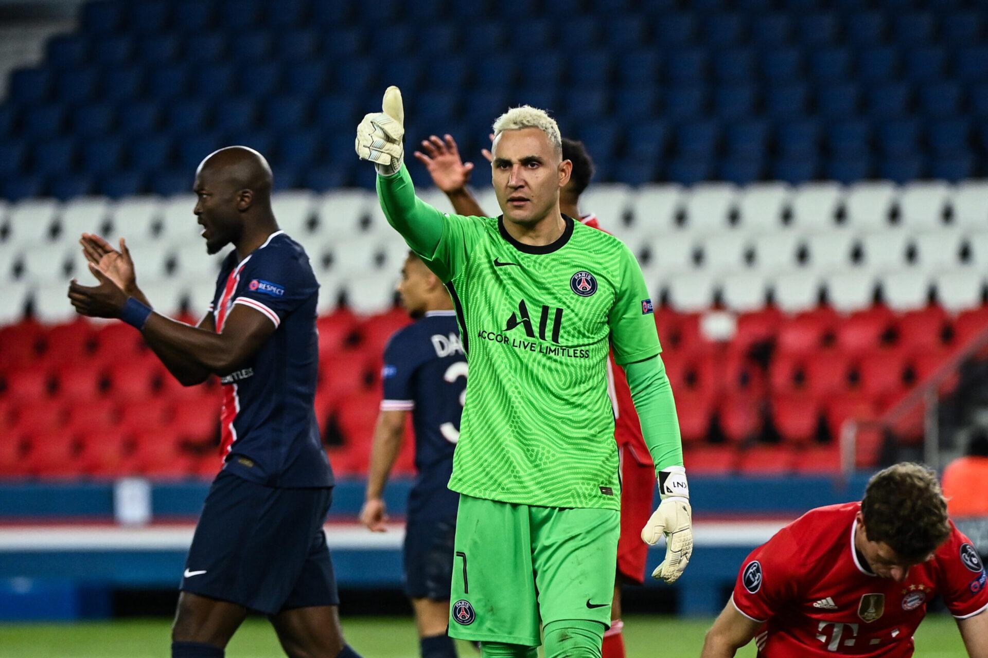 Keylor Navas jouant pour le PSG (Icon Sport)