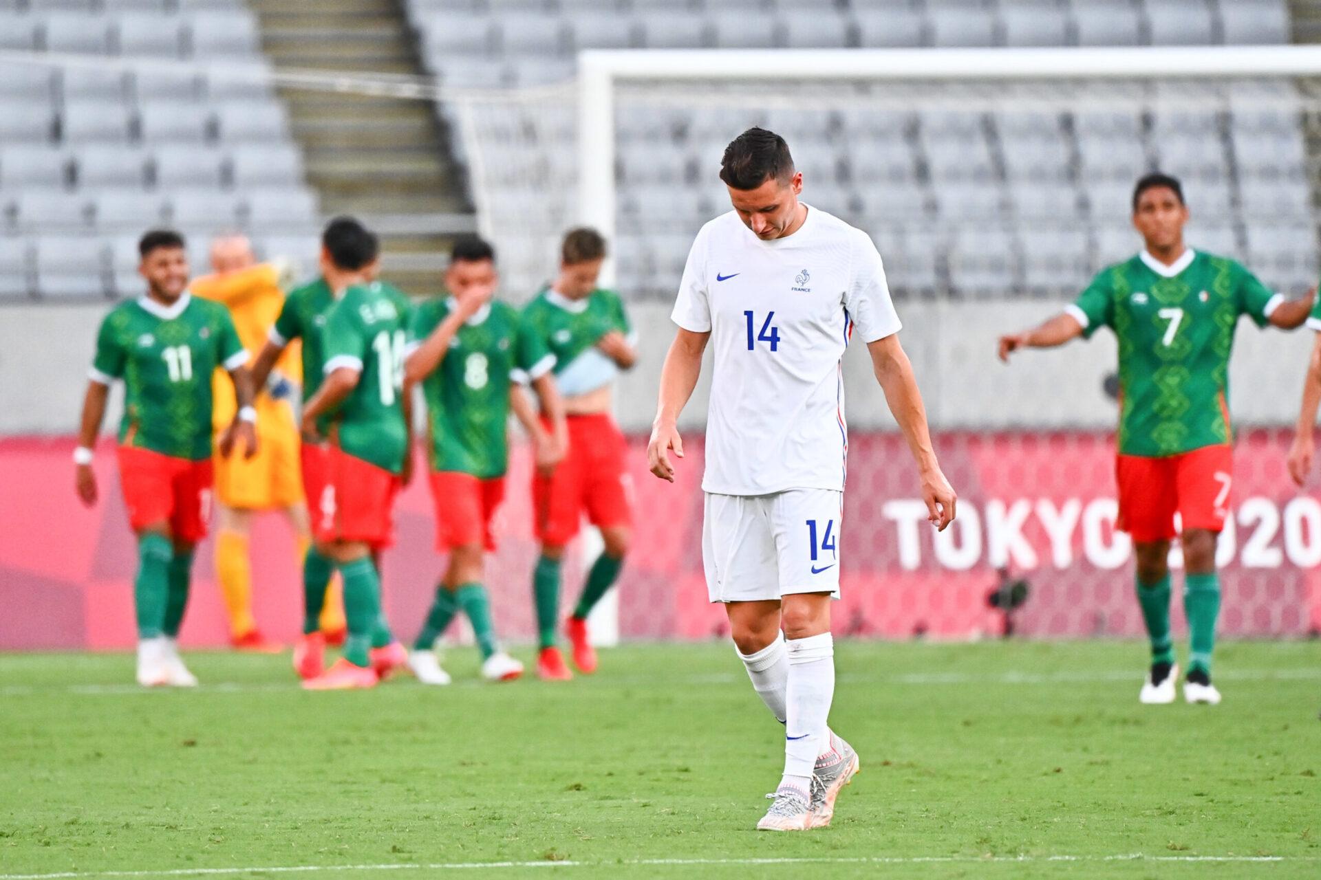 Les Bleus commencent par une défaite face au Mexique (iconsport)