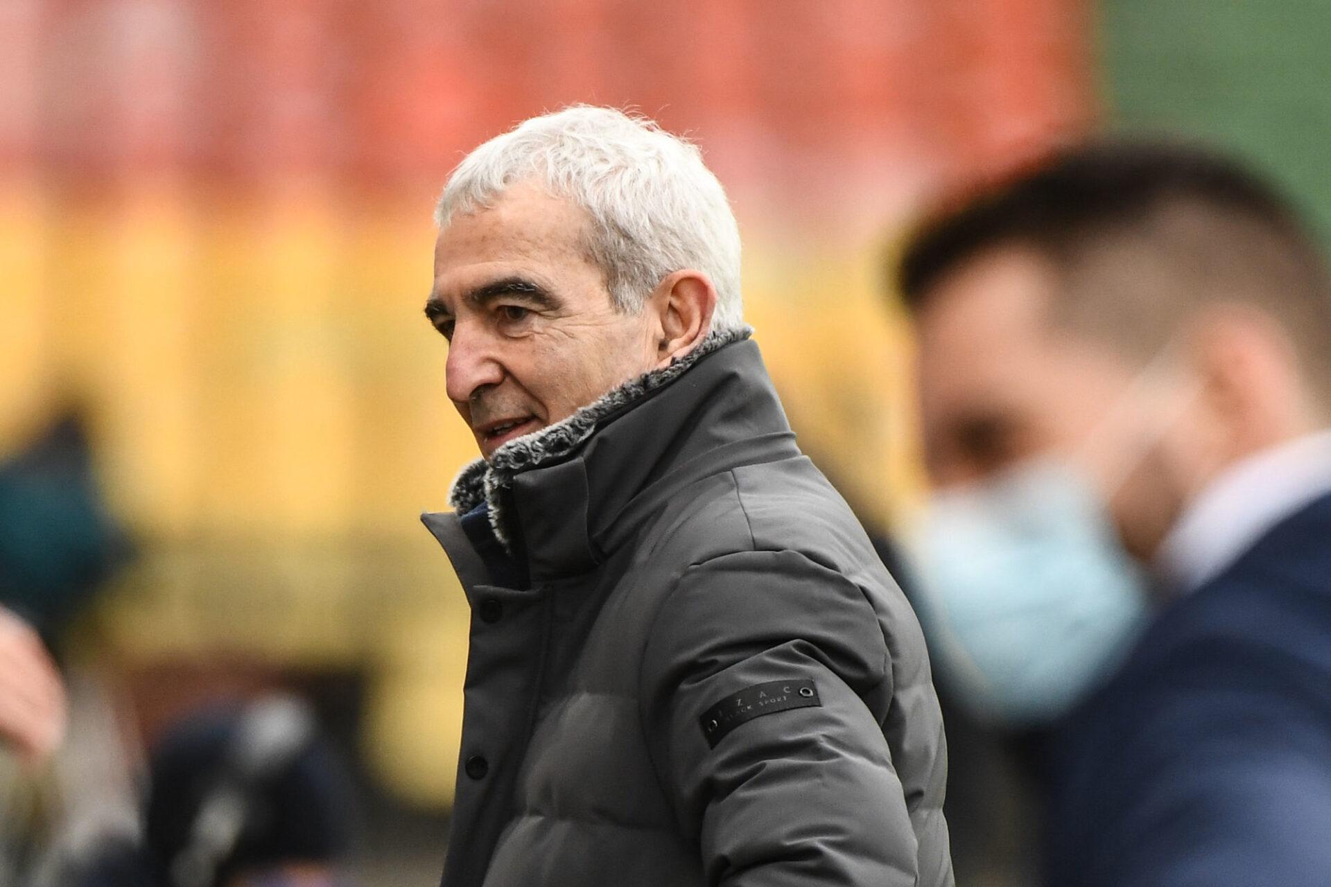 Raymond Domenech avait été licencié de Nantes en février dernier, seulement 46 jours après son arrivée en décembre 2020. Icon Sport