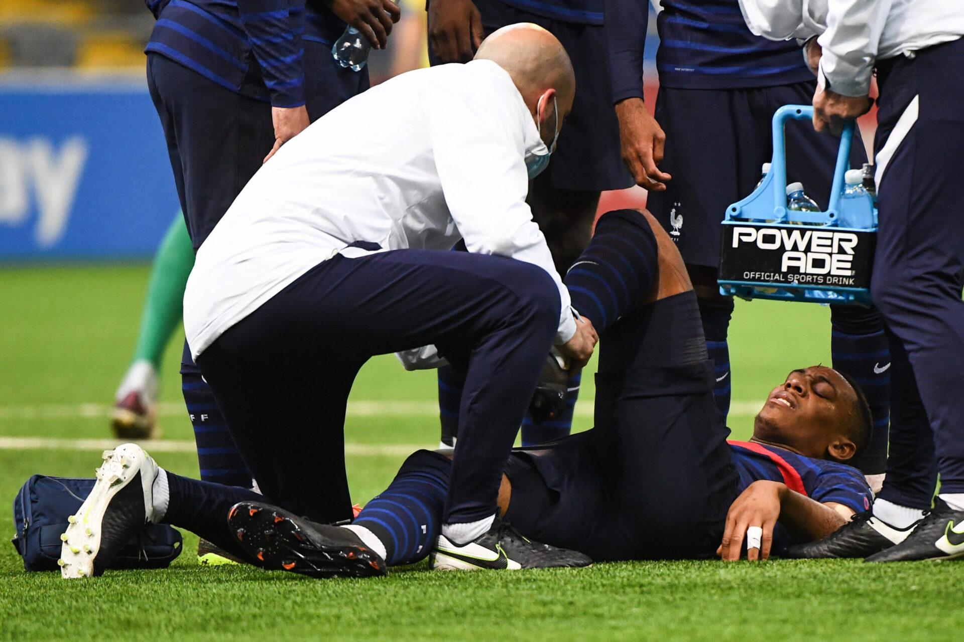 Anthony Martial n'a pas pu assister à l'Euro 2020 et a loupé une partie de la saison mancunienne à cause d'une blessure au genou (iconsport)